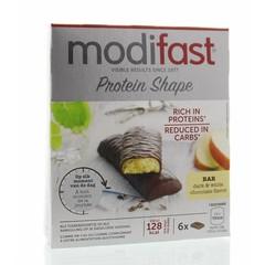 Modifast Protein Shape pure & witte chocolade 6 x 31 gram (1 stuks)