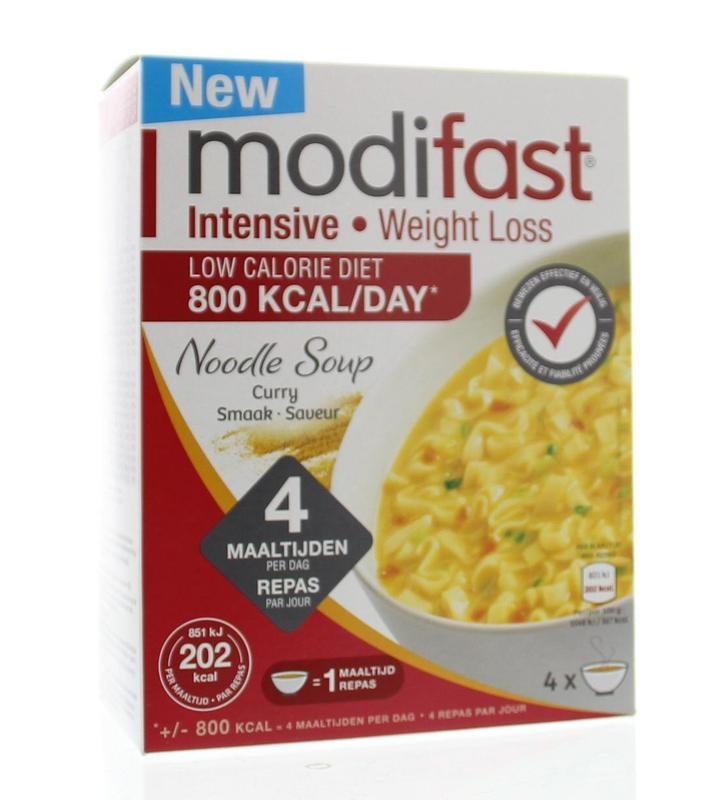 Modifast Modifast Intensive soep curry noodles (220 gram)