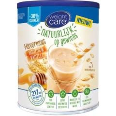 Weightcare Havershake honing/vanille (440 gram)