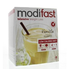 Modifast Intensive milkshake vanille 8 stuks (440 gram)