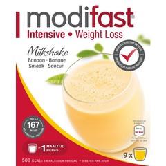 Modifast Intensive milkshake banaan 8 zakjes (440 gram)