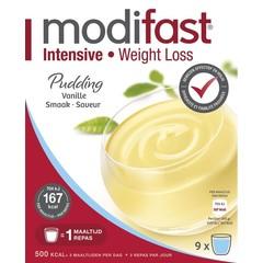 Modifast Intensive pudding vanilla 8 zakjes (440 gram)