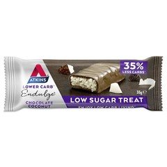 Atkins Endulge chocolade coconut reep (35 gram)