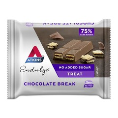 Atkins Endulge chocolate break reep 21 gram (3 stuks)