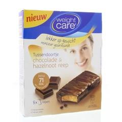 Weight Care Tussendoortje chocola & hazelnoot (8 stuks)