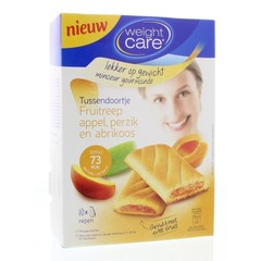 Weight Care Tussendoortje abrikozen & perzik (10 stuks)
