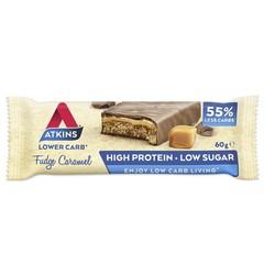 Atkins Fudge caramel reep (60 gram)