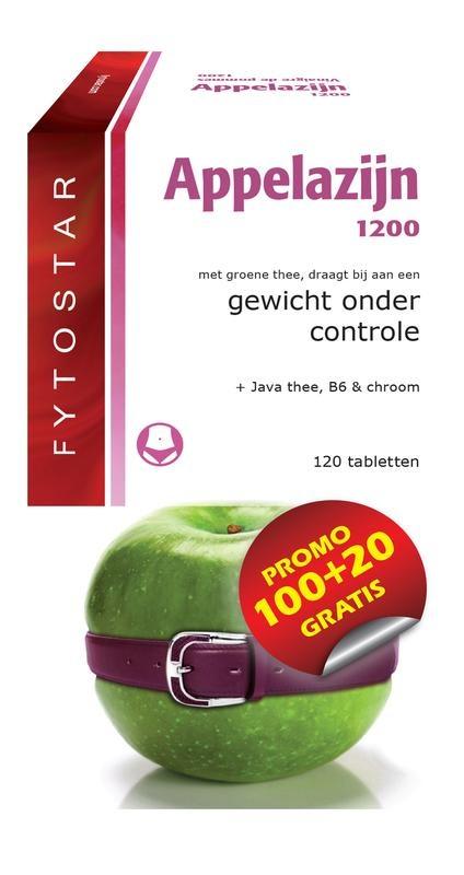 Fytostar Appelazijn 1200 maxi (120 tabletten)