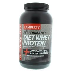 Lamberts Dieet shake whey proteine chocolade (1 kilogram)