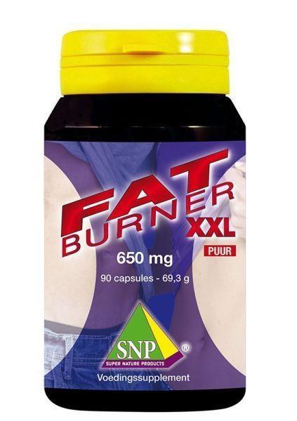 SNP SNP Fatburner XXL 650 mg puur (90 capsules)