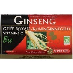 Super Diet Ginseng met royal jelly 20 x 15 ml (300 ml)