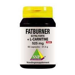 SNP Fatburner extra forte & L-carnitine 525 mg puur (60 capsules)