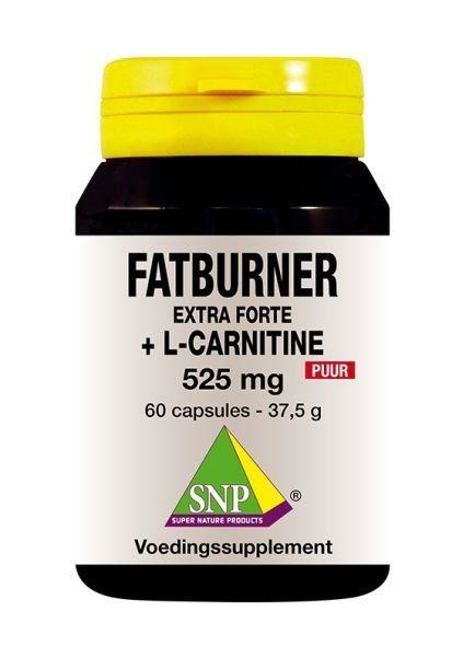 SNP SNP Fatburner extra forte & L-carnitine 525 mg puur (60 capsules)