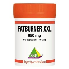 SNP Fatburner XXL 650 mg puur (60 capsules)
