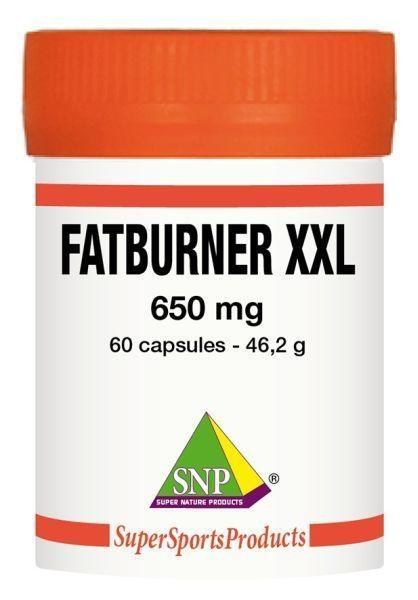 SNP SNP Fatburner XXL 650 mg puur (60 capsules)
