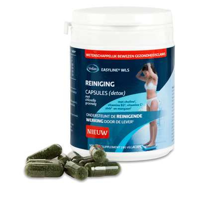 Easyline Easyline WLS Reiniging (detox) capsules (60 vcaps)