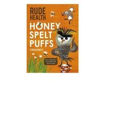 Rude Health Honey spelt puffs (175 gram)