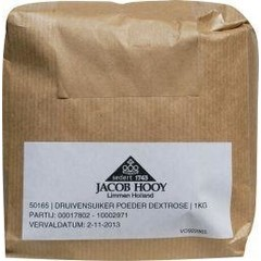 Jacob Hooy Druivensuiker poeder (1 kilogram)