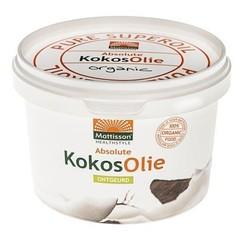 Mattisson Kokosnootolie geurloos (500 gram)
