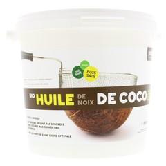 Purasana Bio kokosnootolie ontgeurd (2 liter)