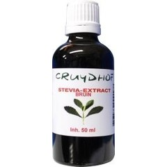 Cruydhof Stevia extract bruin (50 ml)