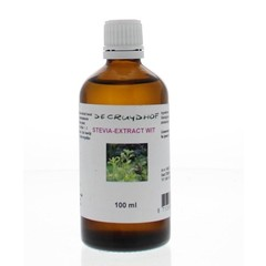 Cruydhof Stevia extract wit (100 ml)