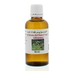 Cruydhof Stevia wit original (50 ml)