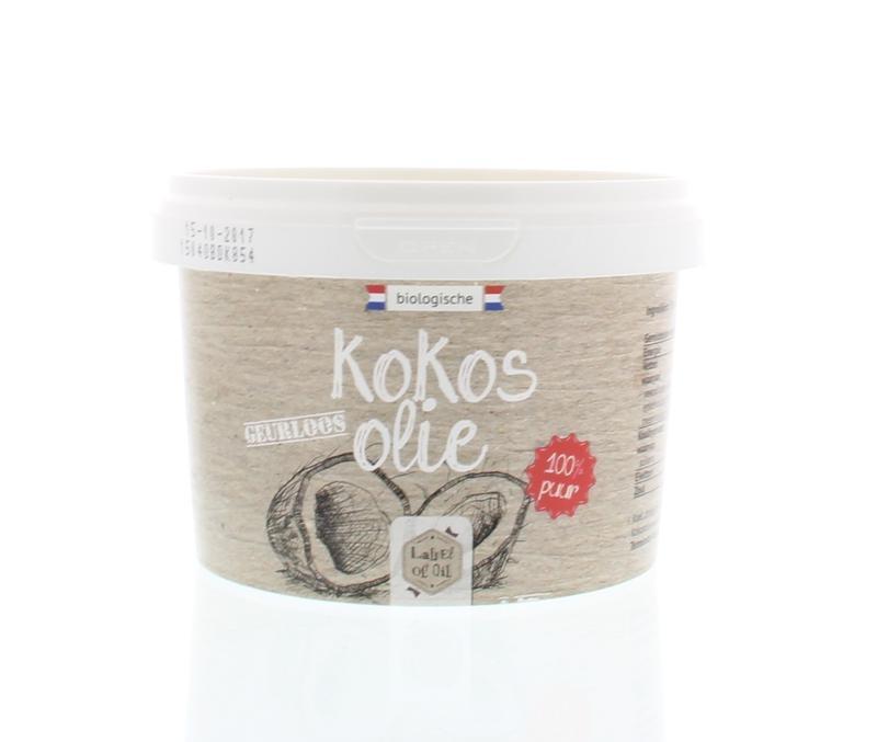 Label Of Oil Label Of Oil Kokosolie geurloos bio (500 ml)