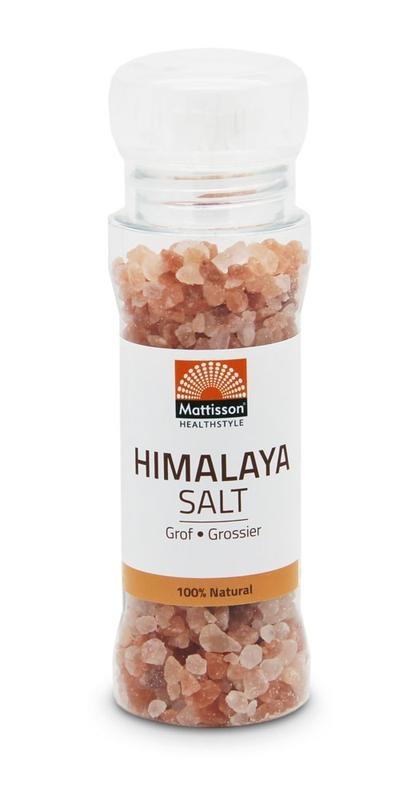 Mattisson Mattisson Himalaya zout grof gemalen (180 gram)