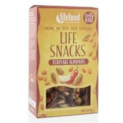 Lifefood Lifesnacks teriyaki amandelen (90 gram)