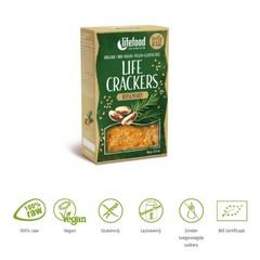 Lifefood Life crackers rozemarijn (90 gram)
