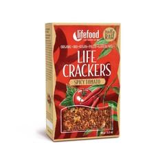 Lifefood Life crackers pikante tomaat (90 gram)
