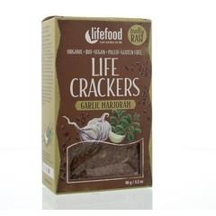 Lifefood Life crackers knoflook marjolein (90 gram)
