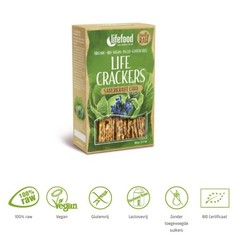 Lifefood Life crackers zuurkool chia (60 gram)