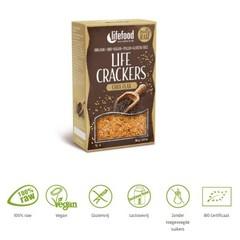 Lifefood Life crackers chia lijnzaad (80 gram)