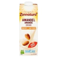 Zonnatura Amandel drink ongezoet (1 liter)