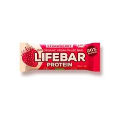 Lifefood Lifebar aardbei (47 gram)