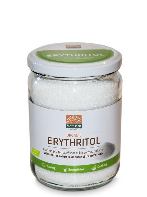 Mattisson Mattisson Erythritol biologisch (400 gram)