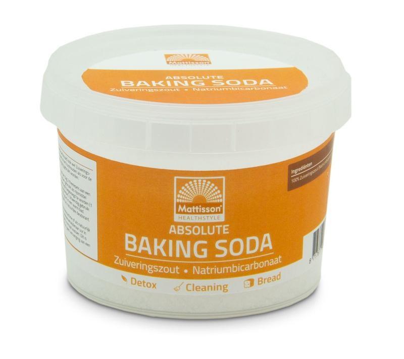 Mattisson Mattisson Baking soda zuiveringszout natriumbicarbonaat (300 gram)
