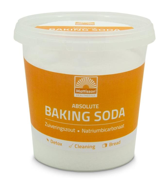 Mattisson Mattisson Baking soda zuiveringszout natriumbicarbonaat (650 gram)