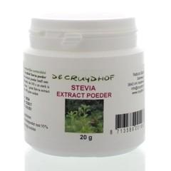 Cruydhof Stevia extract poeder (20 gram)