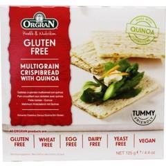 Orgran Crispybread quinoa (125 gram)