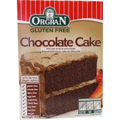 Orgran Chocolade cakemix (375 gram)