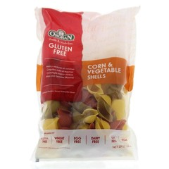 Orgran Corn & vegetable pasta schelpjes (250 gram)