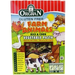 Orgran Rice & corn animalpasta (200 gram)