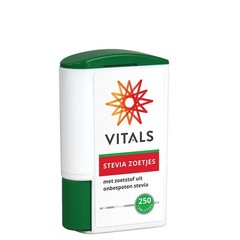 Vitals Stevia zoetjes (250 tabletten)