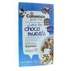 Consenza Meergranen choco muesli (325 gram)