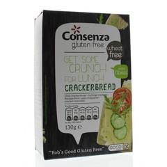 Consenza Luchtige crackers (130 gram)