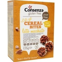 Consenza Lattemachiato cereal bites (125 gram)