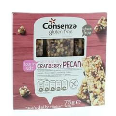 Consenza Cranberry pecan repen (75 gram)